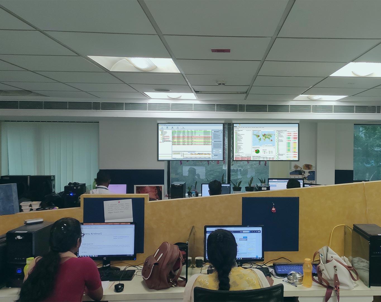 Sage IT Monitoring dashboard